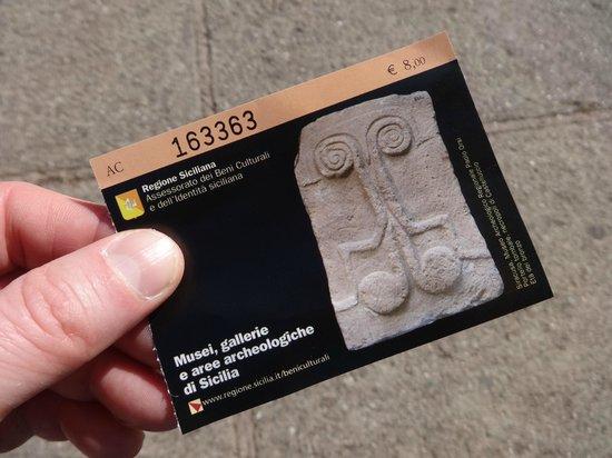 Greek Theatre : Ticket