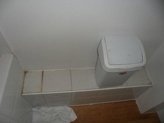 Hotel Albert II : Crasse dans la salle de bain