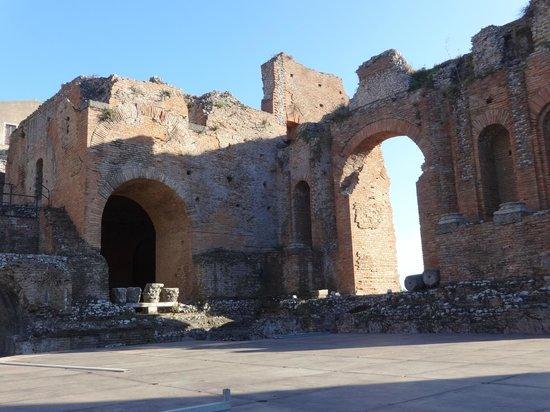 Ancient Theatre of Taormina : Greek Amphitheater