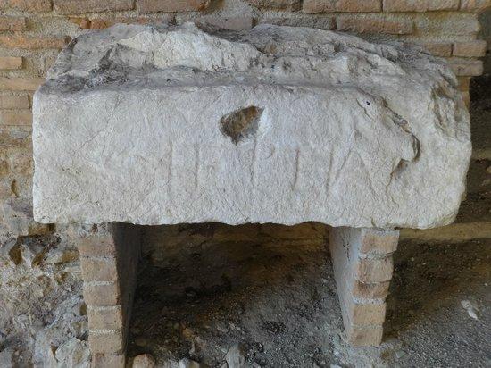 Ancient Theatre of Taormina : Exhibit
