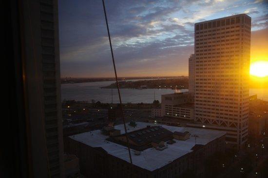 Sheraton New Orleans Hotel: Vista da janela do meu quarto