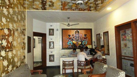 Hotel Pearl Palace : Reception, friendly staff