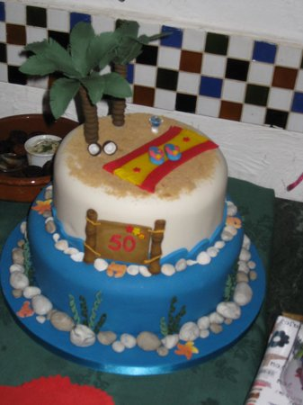 Remarkable Birthday Cake At El Pic Picture Of El Pic Spanish Tapas Bar Funny Birthday Cards Online Inifodamsfinfo