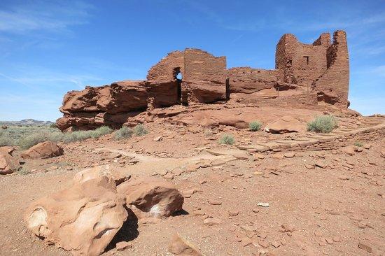 Wupatki National Monument: pueblo