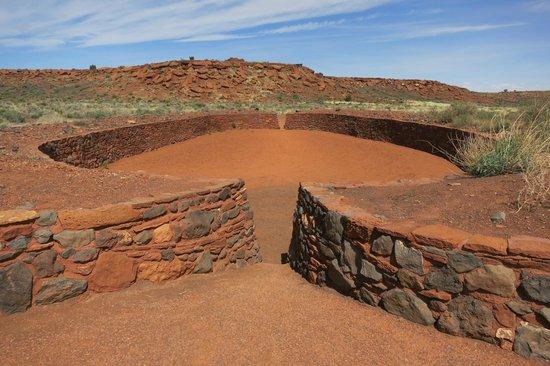 Wupatki National Monument: ball court