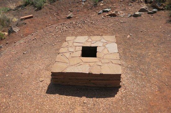 Wupatki National Monument: blow hole