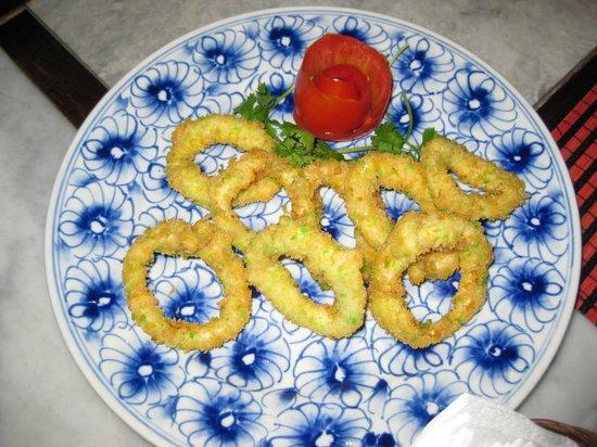 Citronella Cafe : Crispy Calamari