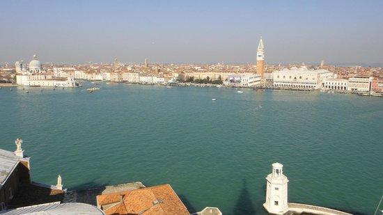 San Giorgio Maggiore : a view from the island