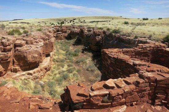 Wupatki National Monument: box canyon