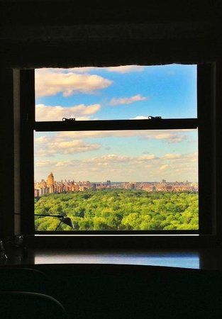 JW Marriott Essex House New York: a window with central park view