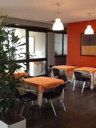 Quality Hotel Rouge et Noir Roma: cena buffet