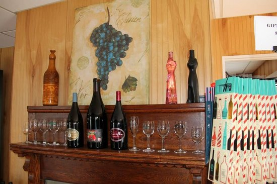 Mountaintop Wine Shoppe: Wine historical artifacts and wine education materials.