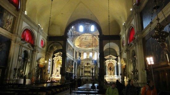 Scuola Grande di San Rocco : the inside