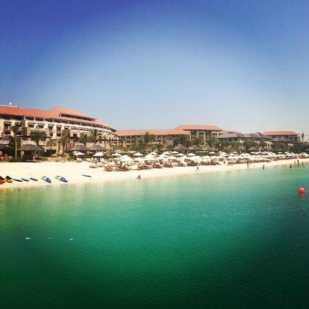 Sofitel Dubai The Palm Resort & Spa: вид с пирса