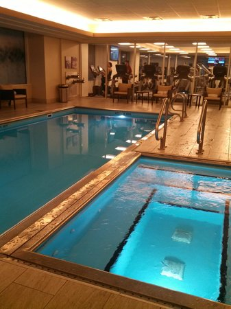 Loved The Pool And Spa Picture Of Hyatt Centric Chicago Magnificent Mile Chicago Tripadvisor