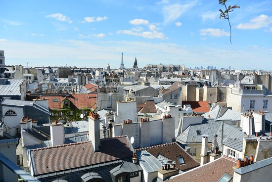 Holiday Inn Paris - Notre Dame : view from 804