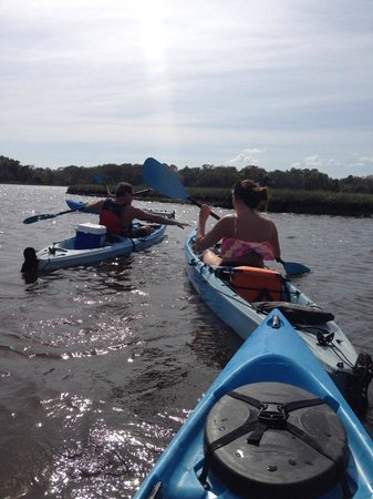 Barrier Island Kayaks
