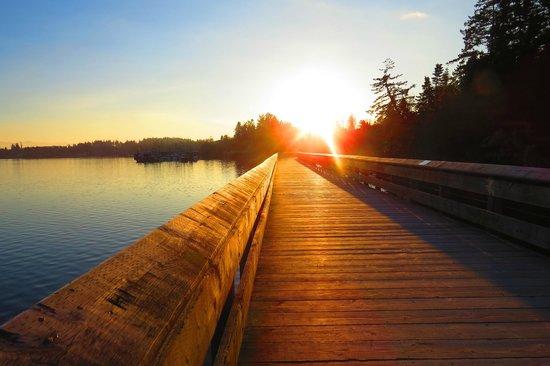 Sooke, Canada: Great Sunset Shot