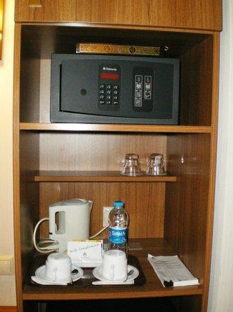 Konak Hotel: Сейф (умещается ноутбук)