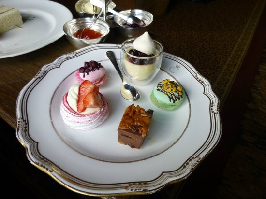 Andre Garrett at Cliveden: Just one part of my Gluten free Afternoon Tea