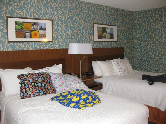 Fairfield Inn & Suites Chicago Southeast/Hammond, IN: double room