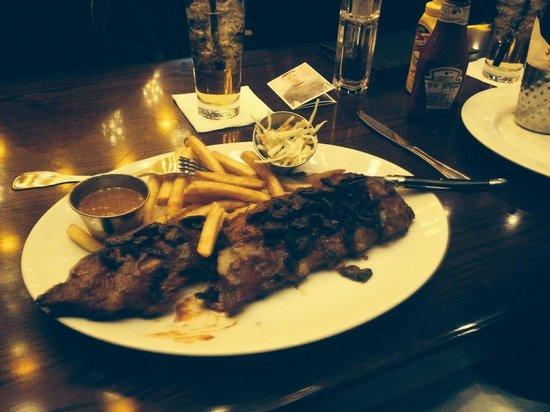 Hard Rock Cafe München: Meine Spare ribbs:-)