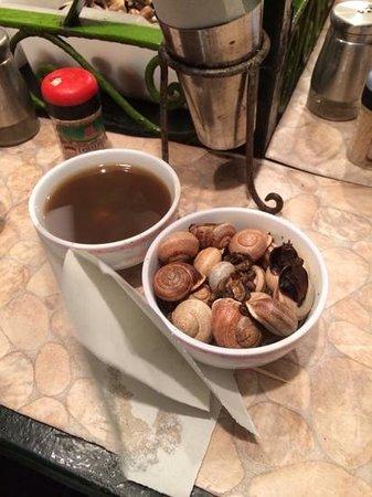 Jemaa el Fna: escargots de mustapha