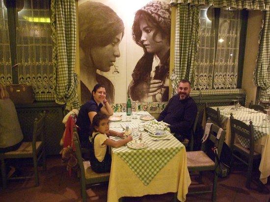 Siciliainbocca in Prati : Romalı eski arkadaşımızla keyifli bir yemek