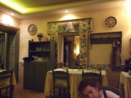 Siciliainbocca in Prati : sıcak bir atmosfer