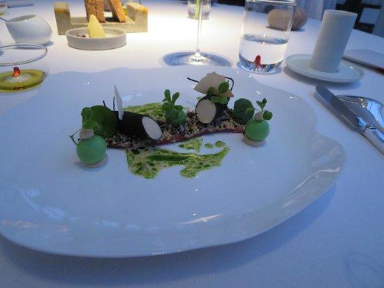 Restaurant Amador : Ochsenzunge mit Winterspargel