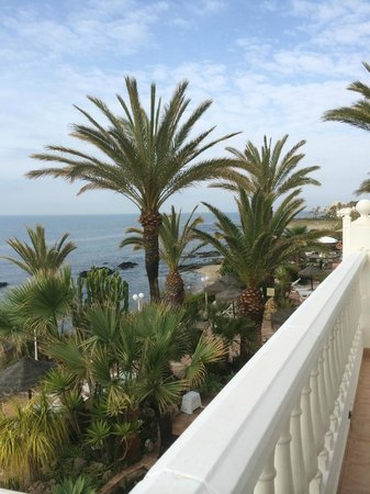 El Oceano Beach Hotel: View from Room 14