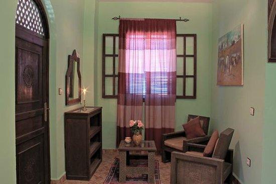 Maison du Sud : salon de chambre