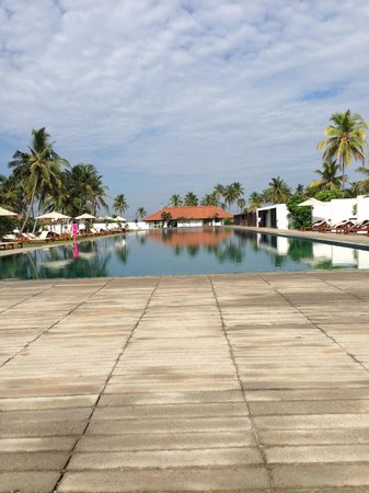 Jetwing Lagoon : The 100m pool