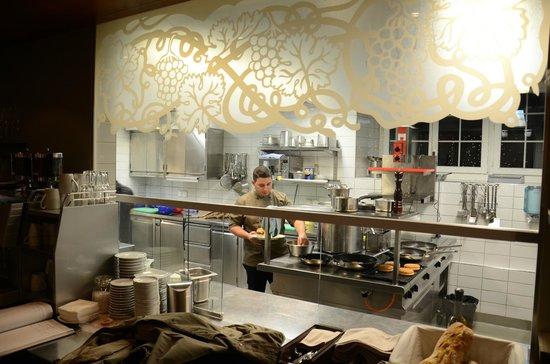Hotel Rebe: Küchenfeeling