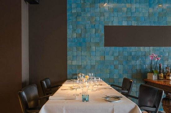 Restaurant D'Hugo: jazzy interieur