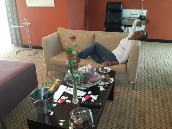 Holiday Inn Sandton - Rivonia Road : executive suite