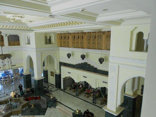 Djerba Golf Resort & Spa: Hall (vue du dernier étage)