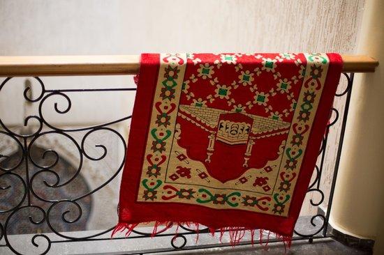 Hotel Bab Boujloud: Интерьер. На этаже время от времени сушатся одеяла и молельные коврики