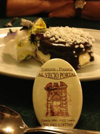 Al Vecio Portal : Special homemade dessert