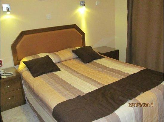 Pyramos Hotel : Double room