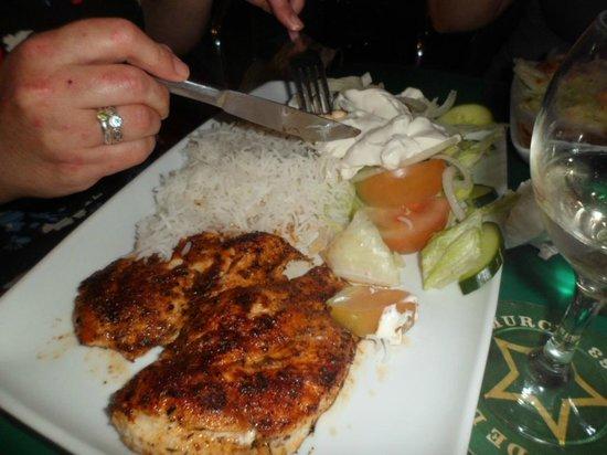 Terrace Bar : Gluten free Chicken Tika