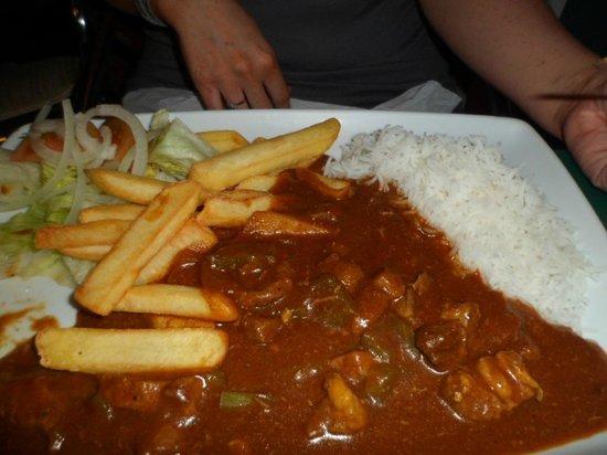 Terrace Bar: Curry
