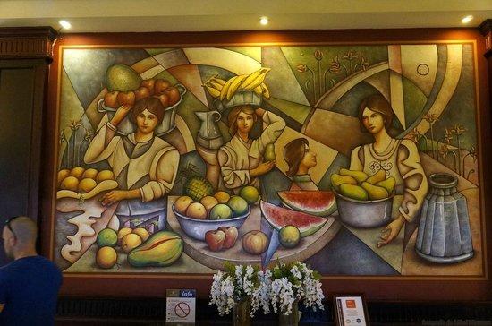 Grand Bahia Principe Bavaro : In the main restaurant