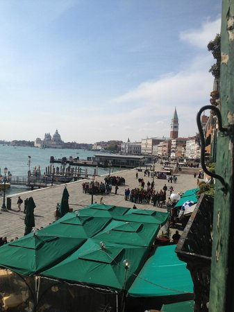 A Tribute To Music : View of the Grand Canal from the window