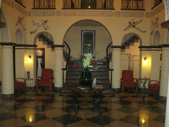 1929 Hotel Seville: The view once you're in the front door