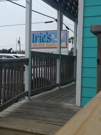 Irie's Island Food: Look for the spoonbill!