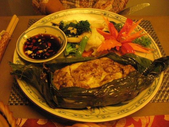 Essence Restaurant: Grilled Sea Bass