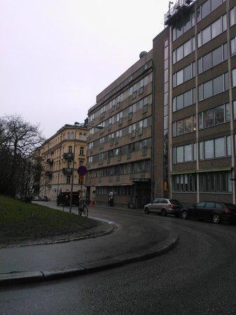 Hotel Micro : Entrance