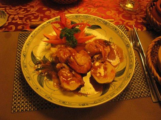 Essence Restaurant: Sauteed Shrimp