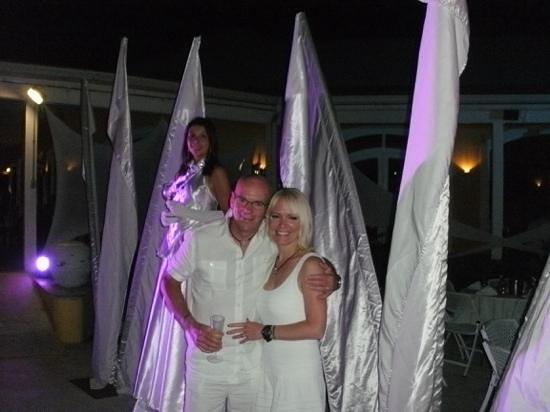 Club Med Columbus Isle: bal en blanc